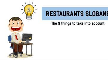Restaurant slogans: how to write them