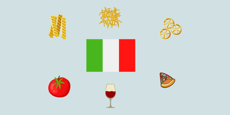 Names Of Good Italian Food
