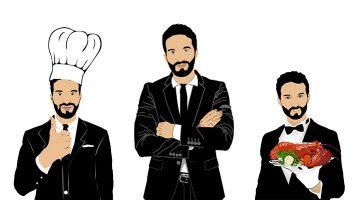 Patterns in the Organizational Hierarchy for Restaurant
