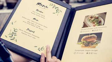 Menu Design: 20 Things you Should Know