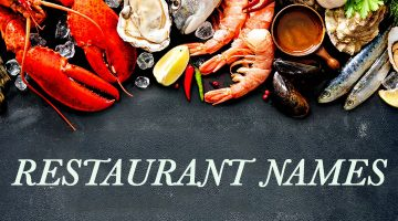 30+ Memorable Seafood Restaurant Name Ideas With Slogans