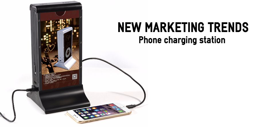 phone chargers for restaurants