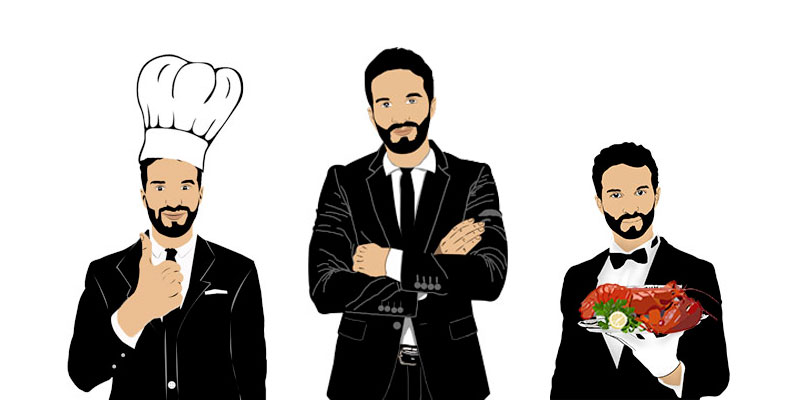 Organizational Hierarchy Restaurants