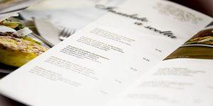write menu description