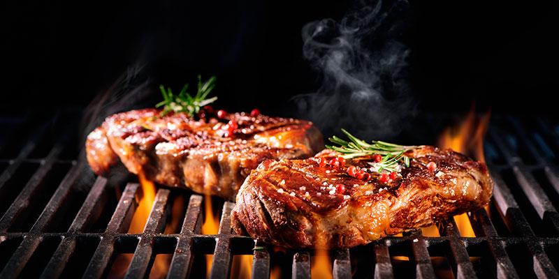 BBQ restaurant grill