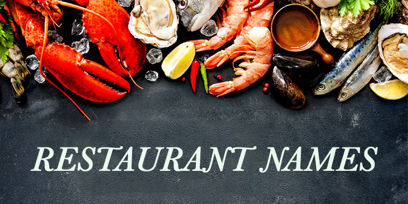 Seafood restaurant names