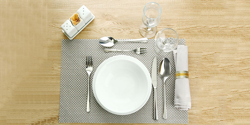 Types Table Setting