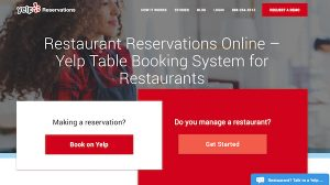 Yelp Reservations