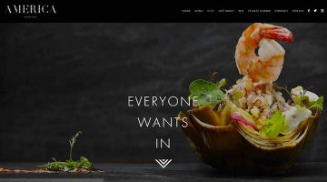 restaurant website